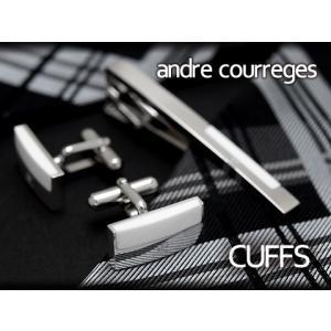 andre courreges アンドレ・クレージュ カフス ホワイト CC6006A ネコポス不可 the-article