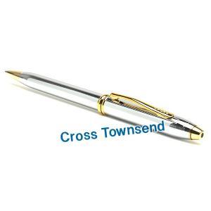 CROSS クロス ボールペン タウンゼント メダリスト シルバー CROSS502