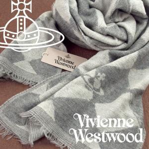 Vivienne Westwood ヴィヴィアンウエストウッド ストール レディース ハーリキンチェック柄 グレー VV-P205-GREY【ネコポス不可】|the-article