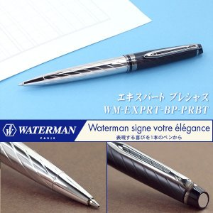 WATERMAN ウォーターマン EXPERT エキスパート ボールペン 油性 プレシャスBT S0963360 WM-EXPRT-BP-PRBT ネコポス送料無料