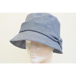 レディース 婦人 B.D 712171 ブルー 青 布帛 綿...