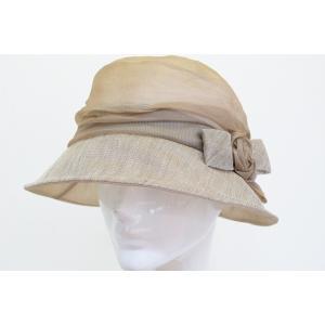 帽子 レディース Luijanne 723901 ブラウン ...