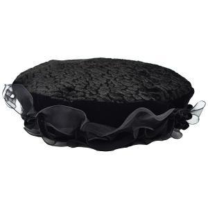 ベレー帽 merry basic 868373 ブラック 黒 ファッション 帽子 レディース 婦人 ...