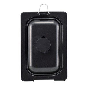 ミニ 卵焼き フライパン 蓋 10×16cm シリコン加工 ミニ 玉子焼 カバー コンパクト HB-...