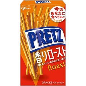 グリコ  プリッツ 香りロースト 62g まとめ買い(×10)
