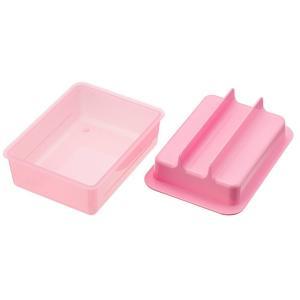 貝印 シリアルバー メーカー 3個取り レンジ で簡単 Daily Plus DH-2700 ピンク