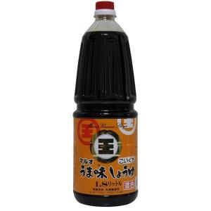 丸尾醸造 うま味しょうゆ こいくち 1.8L まとめ買い(×3)|the-fuji-food