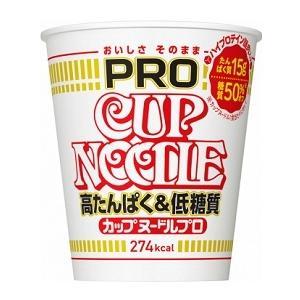 日清食品 カップヌードルPRO 高たんぱく&低糖質 74g まとめ買い(×12)|4902105263600(tc)|the-fuji-food