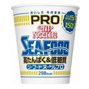 日清食品 カップヌードルPRO シーフードヌードル 78g まとめ買い(×12)|4902105263617(tc)|the-fuji-food