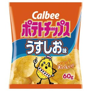 カルビー ポテトチップスうすしお味 60g まとめ買い(×12)|the-fuji-food