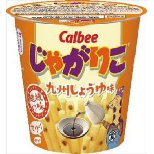 カルビー じゃがりこ九州しょうゆ味 52g まとめ買い(×12)|the-fuji-food