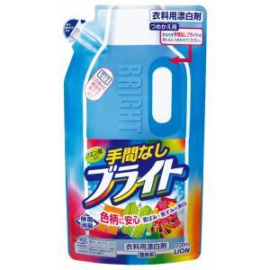 (10個セット)ライオン 手間なしブライト詰替え用 720ml|まとめ買い|the-fuji-food