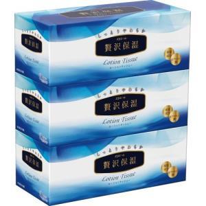 大王製紙 エリエール 贅沢保湿 ローションティシュー 200組×3個パック|the-fuji-food