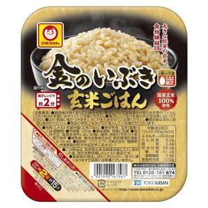 マルちゃん 金のいぶき玄米ごはん 160g まとめ買い(×10)|4901990167567(tc)