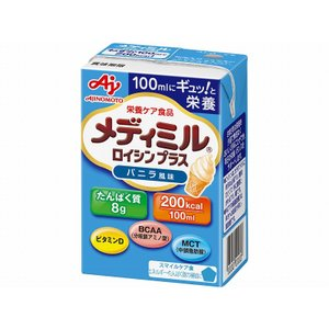 味の素メディミルプチロイシンバニラ風味100gまとめ買い(×5)|the-fuji-life