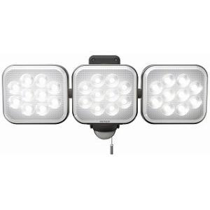 ムサシ RITEX フリーアーム式LEDセンサーライト(12W×3灯) (コンセント式) 防雨型 LED-AC3036(送料無料)|4954849531231:家庭用品