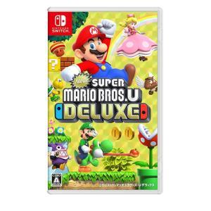 任天堂 New スーパーマリオブラザーズ U デラックス -Switch(スイッチソフト)(Nintendo Switch)(新品)(ネコポス限定送料無料) 4902370541281 the-fuji