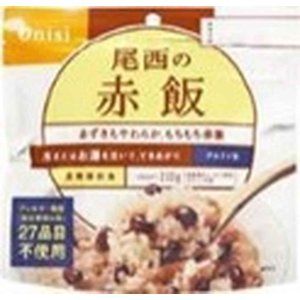 尾西食品 アルファ米赤飯 100g まとめ買い...の関連商品7