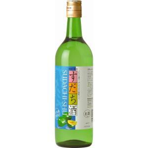 松浦酒造 鳴門鯛 すだち酒 720ml 4990734420051