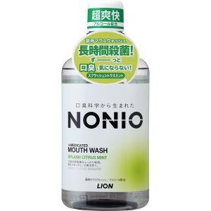 ライオン NONIOマウスウォッシュシトラス 600ml|4903301259367(tc)