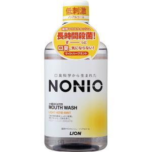 ライオン NONIOマウスウォッシュハーブNA 600ml|4903301259398(tc)