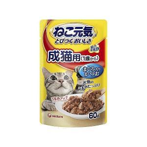 ねこ元気 総合栄養食 パウチ 成猫用(1歳から)...の商品画像
