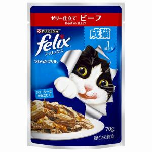 ネスレフィリックス成猫ビーフ 70g まとめ買...の関連商品3