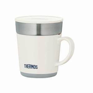 商品説明:家でもオフィスでも使える魔法びん構造のマグカップ。飲み頃温度が長持ちします。ホコリを防ぐフ...