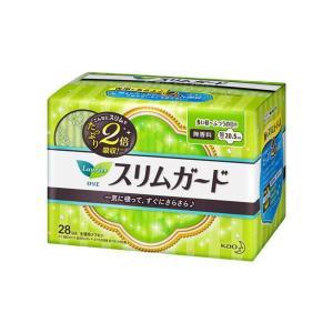 花王 ロリエ スリムガード 多い昼〜ふつうの日用 28コ入 生理用ナプキン|the-fuji