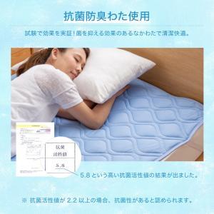【処分価格】超接触冷感敷きパッド(QMAX0.5) シングル 100x200cm 抗菌防臭綿使用|the-fuji|08