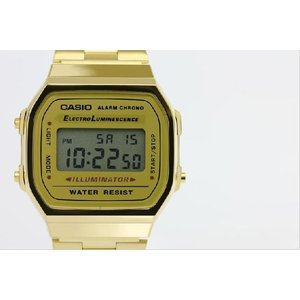 CASIO カシオ A168WG-9 腕時計 ウォッチ アラームクロノ