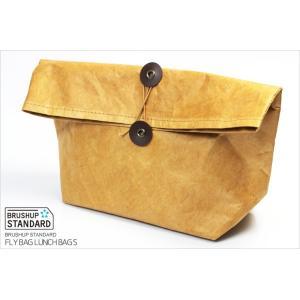 FLY BAG LUNCH BAG Sサイズ クラッチ ランチバッグ 弁当箱入れ 保冷 お弁当 バッグインバッグ|the-hacienda