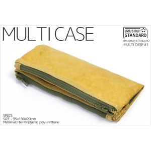 ブラッシュアップスタンダード FLY BAG MULTI CASE #1 マルチケース 筆箱 ペンケース|the-hacienda