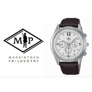 【送料無料】 MACKINTOSH PHILOSOPHY マッキントッシュ 腕時計 メンズ Bristol ブリストル FBZV997 クロノグラフ|the-hacienda