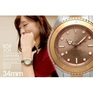 HYAKUICHI ヒャクイチ レディースダイバーズウォッチ 20気圧防水腕時計 サブマリン 女性用 the-hacienda