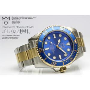 HYAKUICHI ダイバーズウォッチ 200m防水 スウィープ スイープセコンド メンズ 腕時計|the-hacienda