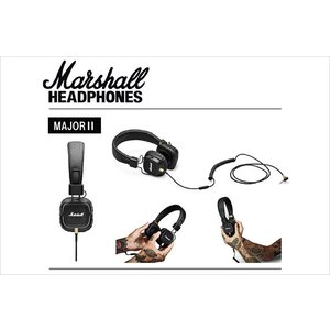 Marshall Headphones マーシャル ヘッドホン MAJOR2|the-hacienda