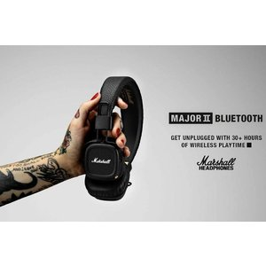 Marshall Headphones マーシャル ヘッドホン MAJORIIBluetooth 密閉型|the-hacienda