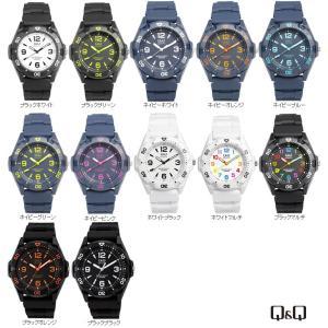 Q&Q カラフルウォッチ メンズ&レディース 腕時計 防水 ユニセックス|the-hacienda
