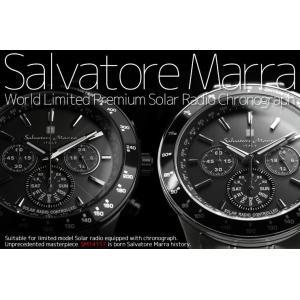 サルバトーレマーラ  電波ソーラー クロノグラフ腕時計 限定モデル SM14117 あすつく|the-hacienda