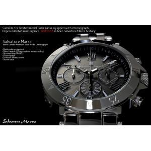 サルバトーレマーラ  電波ソーラー腕時計 クロノグラフ 限定モデル SM15114