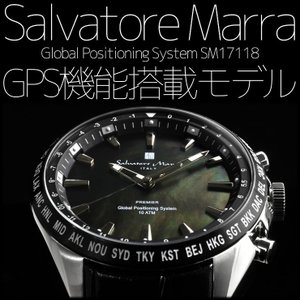サルバトーレマーラ  GPS 衛星電波時計 電波 腕時計 メンズ ブランド 限定モデル SM17118|the-hacienda
