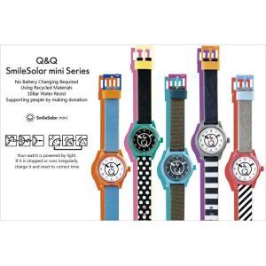 Q&Q SmileSolar スマイルソーラー ミニ 腕時計 レディース ボーイズ ウォッチ 10気圧防水 the-hacienda