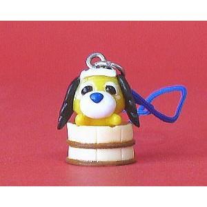 伊藤園「お茶犬&お茶猫」温泉マスコット:むぎ茶犬ムハ(シークレット)