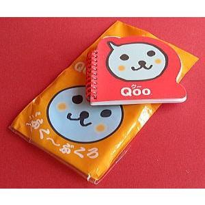 コカ・コーラ「Qoo」ミニふく〜ぶくろ:オリジナルリングノート|the-ippindo