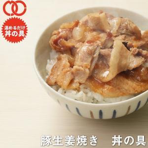 豚生姜焼き 丼の具 3食|the-nikuya