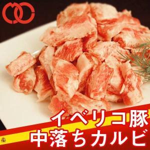 イベリコ豚 中落ち カルビ 500g|the-nikuya
