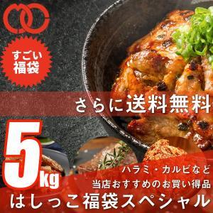 [ 訳あり 送料無料 ]はしっこ福袋7種 5kg超え 人気のはしっこシリーズ・牛ハラミ・豚肩ロース・鶏ムネ肉・豚角煮・牛カルビ・豚トロ・プラスおまけに500g|the-nikuya