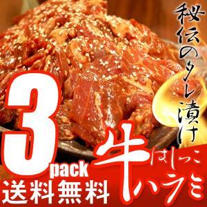 訳あり 送料無料 はしっこタレ漬け 牛 ハラミ (500g×3P) 業務用 牛肉 ハラミ 焼肉 焼き肉 バーベキュー|the-nikuya