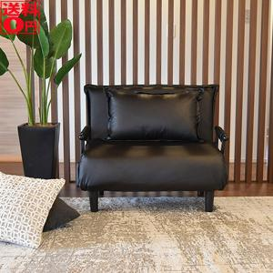 『ビータ3』 背もたれ6段階リクライニングソファベッド<折りたたみ式クッション付> 8色【東北追加送料 +1944円】の写真